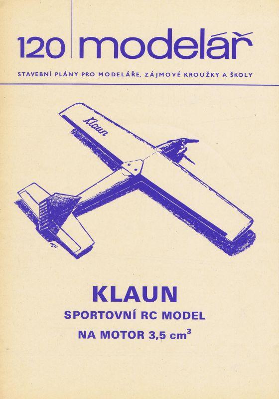 sportovní RC model na motor 3,5 ccm