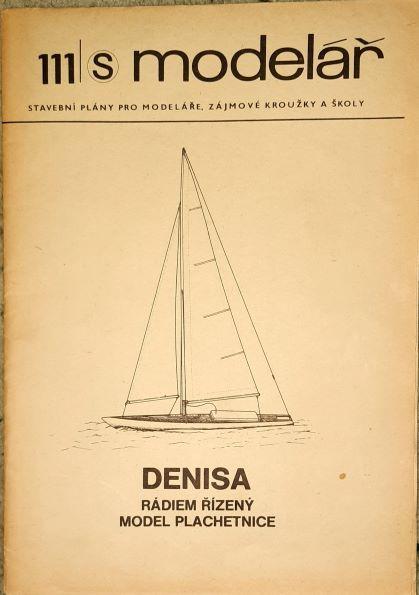 rádiem řízený model plachetnice