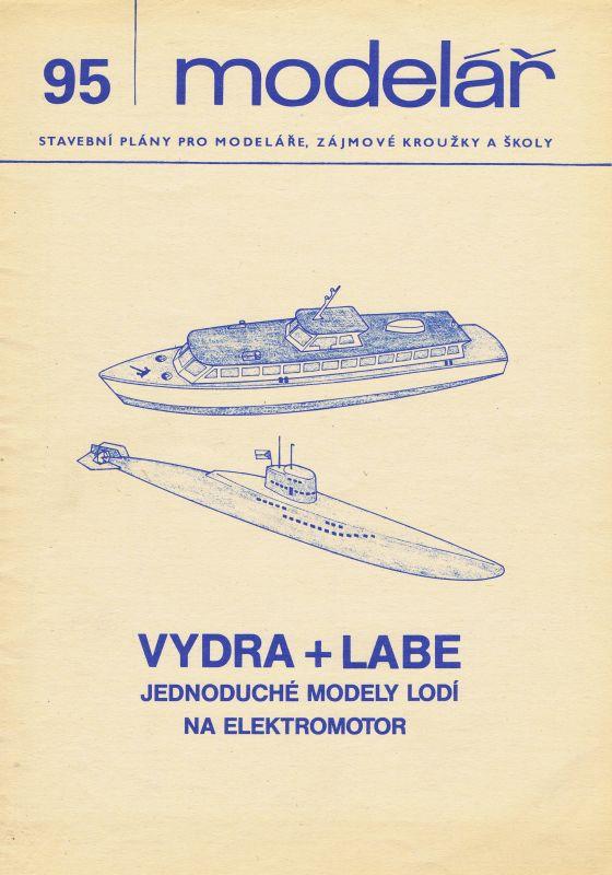 jednoduché modely lodí na elektromotor