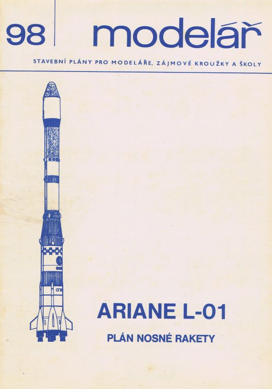 plán nosné rakety