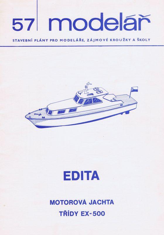 Motorová jachta třídy EX-500