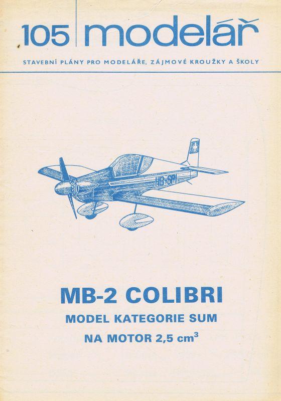 model kategorie SUM na motor 2,5 ccm