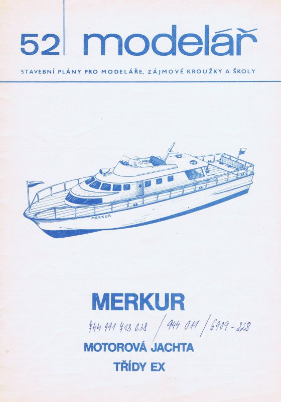 Motorová jachta třídy EX