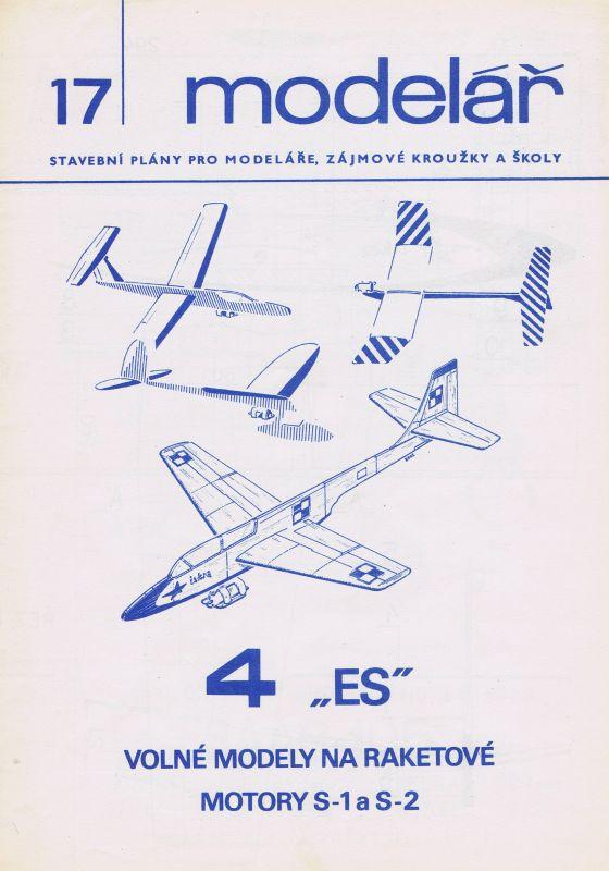 Volné modely na raketové motory S-1 a S-2